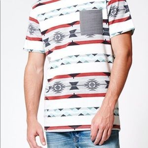 On the Byas Homie Printed Pocket Tee Shirt